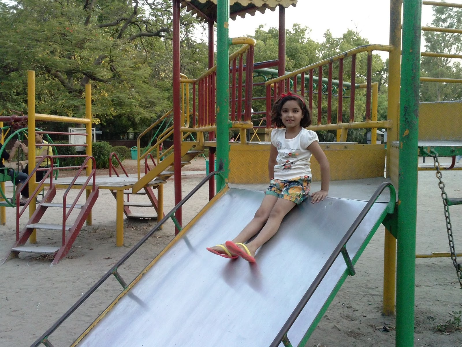 Essay on children playing in park