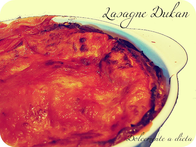 ricetta salata: lasagne dukan!!