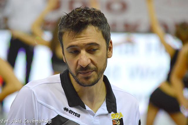 Miguel Falasca trener Skra