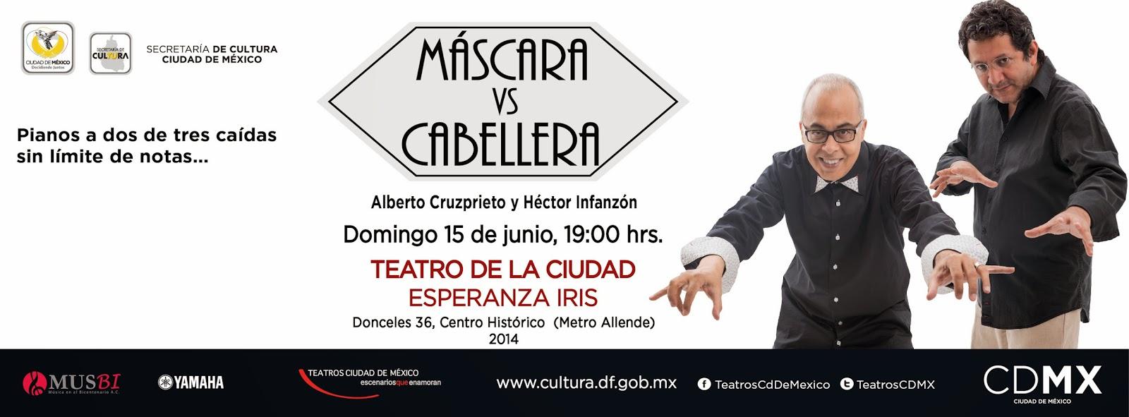 Fusionan música y lucha libre en el Teatro de la Ciudad Esperanza Iris
