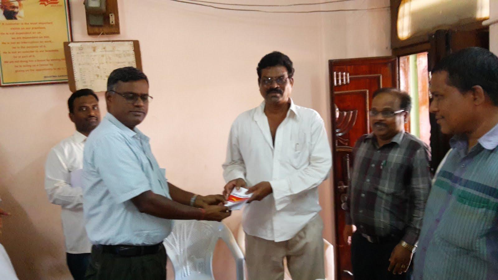 Visit of PMG Vijayawada to Bhimadole SO