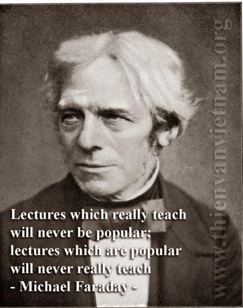 Michael Faraday - Thế nào là người thầy đích thực?
