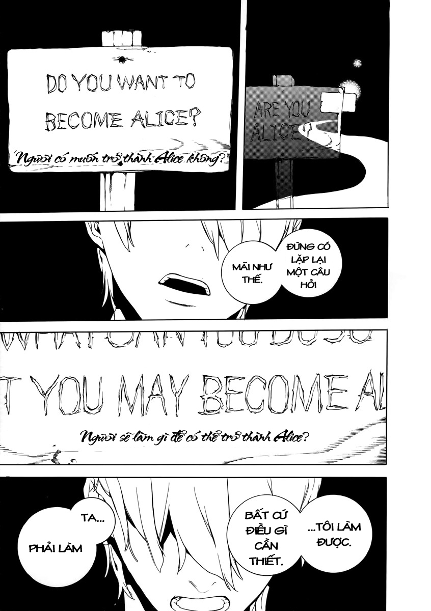 Are you Alice? Chapter 19 - Trang 22