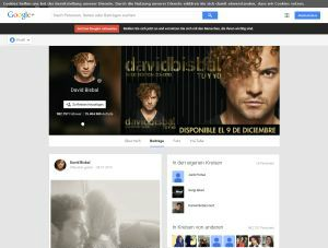 David Bisbal Google+