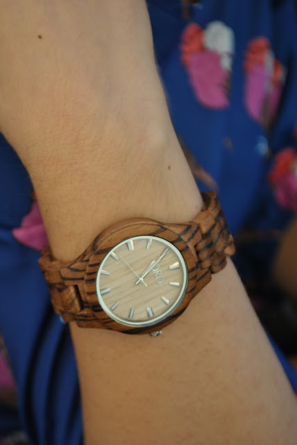orologio in legno jord jord watch wooden watch how to wear wooden watch how to combine wooden watch urology in legno accessori in legno mariafelicia magno fashion blogger