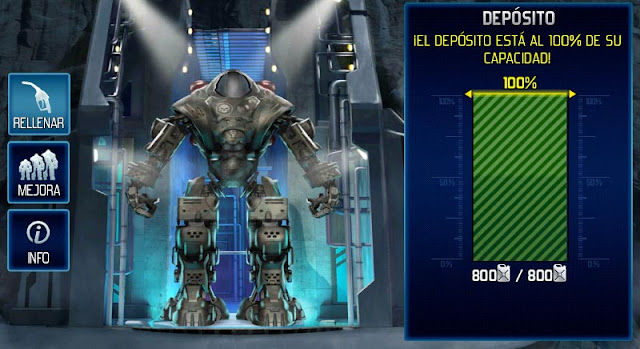 Depósito de Prometheus al 100% de su capacidad en World at Arms