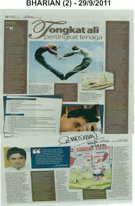 Tongkat Ali Nu-Prep 100. Kajian Klinikal ' Akhbar ditandatangani - rasmi Pakar Andrologi Malaysia.