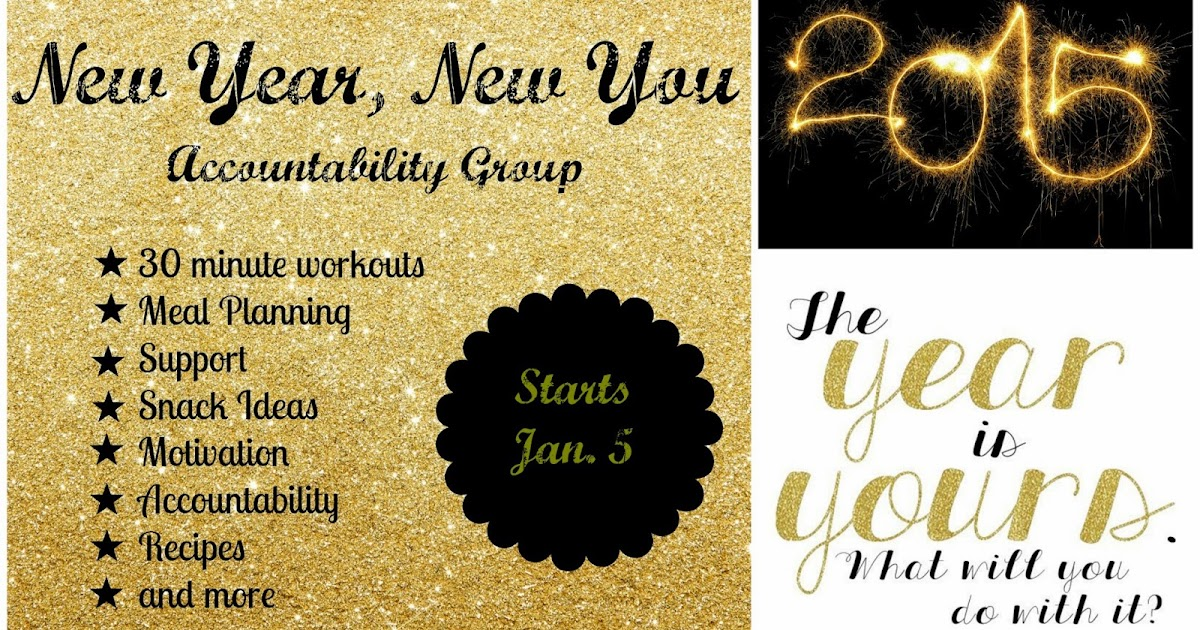 New Year New You Health And Fitness Accountability Group