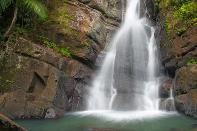 El Yunque: La Mina Falls