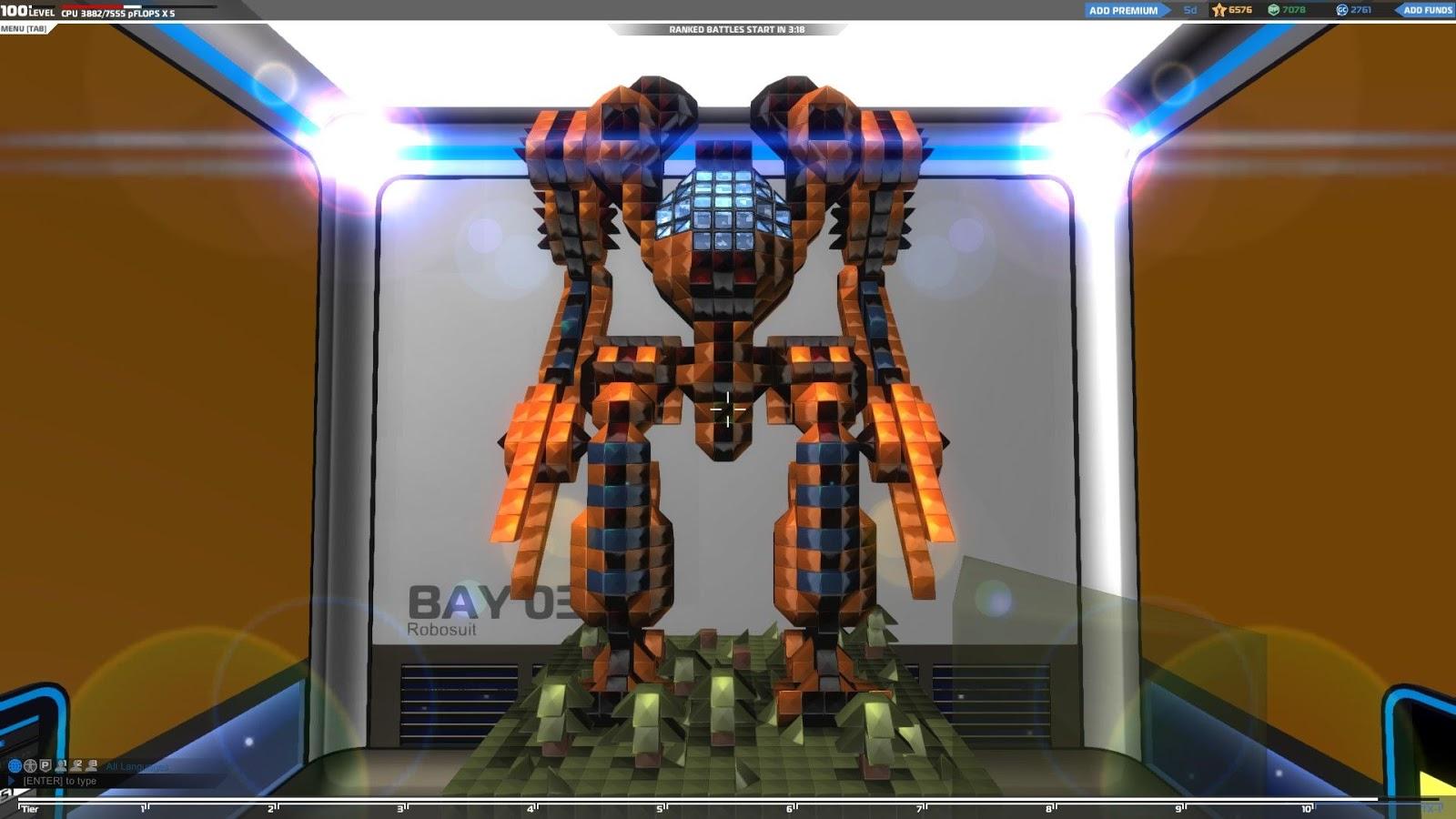 What do you do?: Robocraft