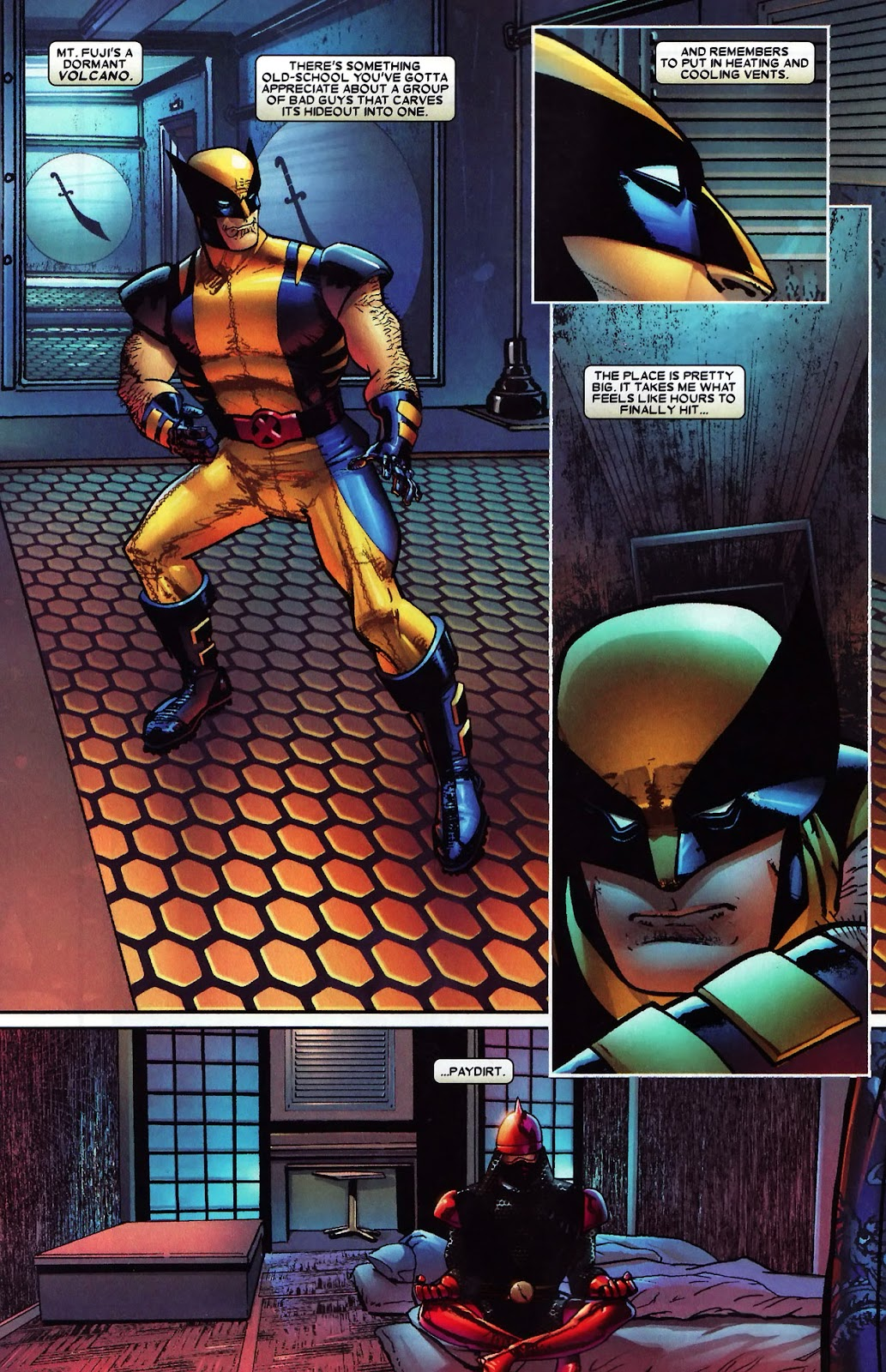 Read online Wolverine (2003) comic -  Issue #60 - 18
