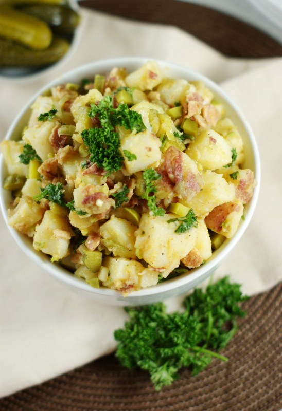 German Potato Salad - The Kitchen is My Playground