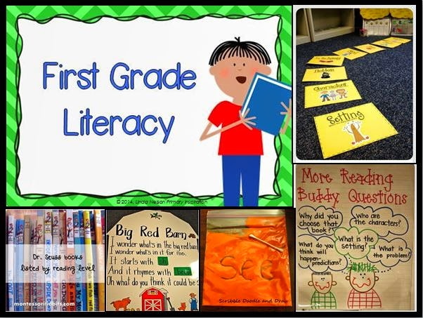 http://www.pinterest.com/primaryinspire/first-grade-literacy/