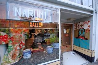 San Francisco, Marla Gentry, Narumi, Japanese antiques, Fillmore Street, tansu
