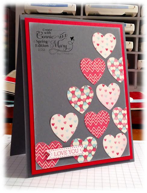 Tarjeta Corazones por San Valentin