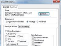 Microsoft DirectX Control Panel Offline Installer Free Download