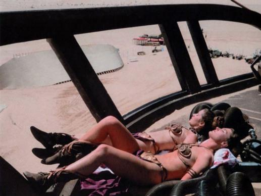 9 amazing Princess Leia photos including her Playboy Bunny Costume ...