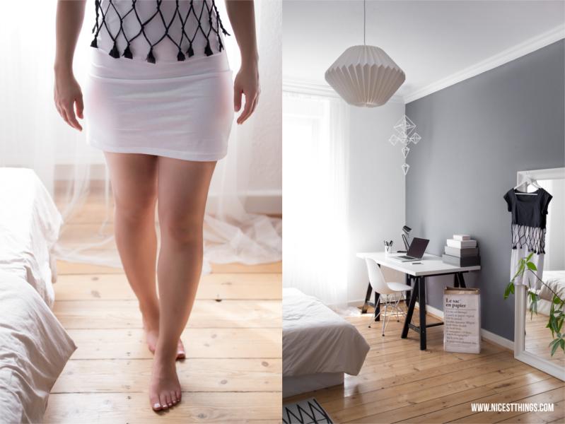 Kleid im Lagenlook / Netzkleid selber machen