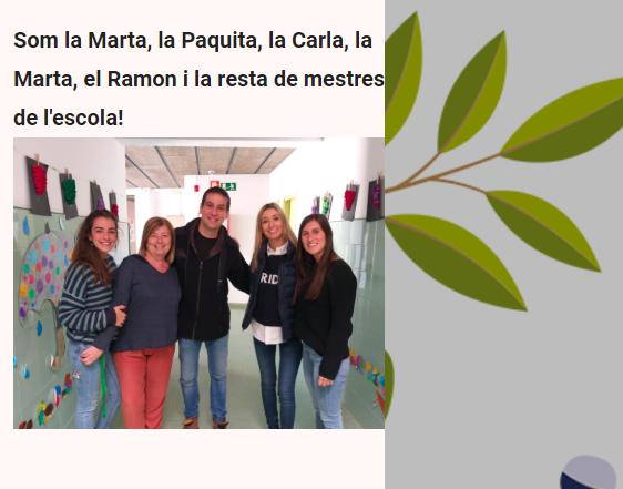 L'ESCOLA A CASA 3r PRIMÀRIA