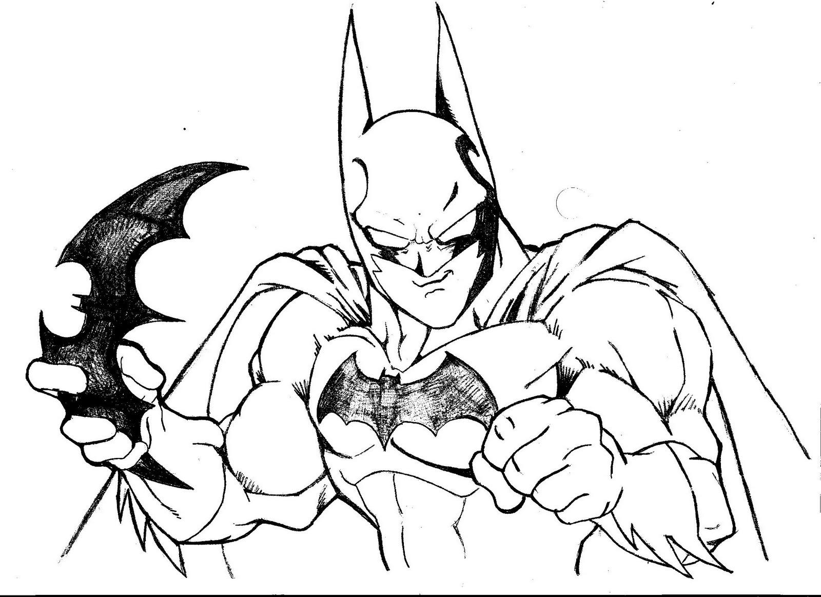 Encantador Batman Y Nightwing Para Colorear Friso - Enmarcado Para ...