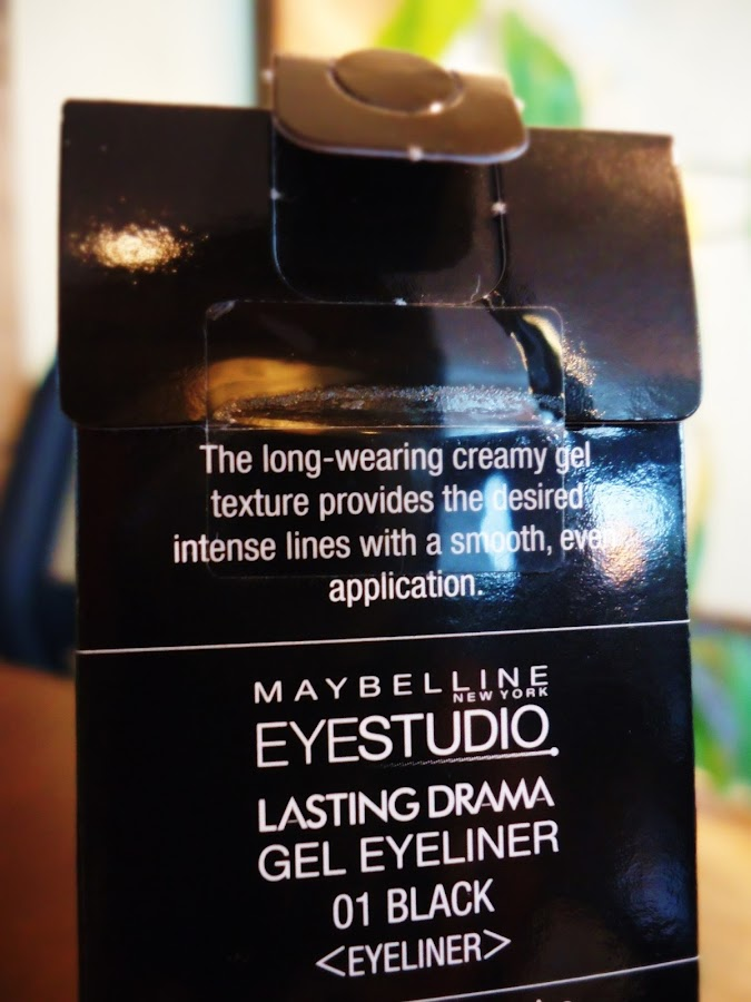 Maybelline Eye Studio Lasting Drama Gel Eyeliner in black