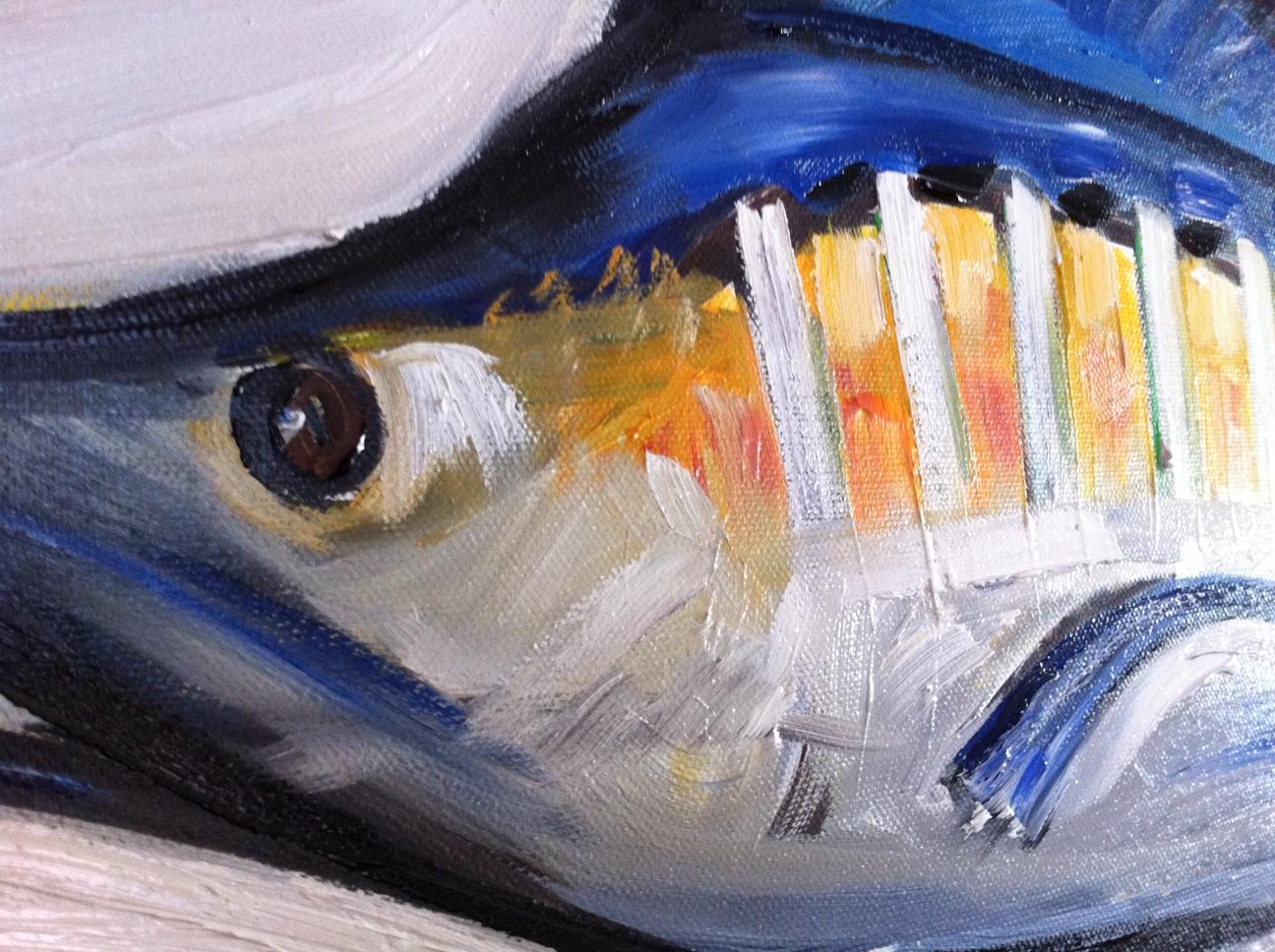 Blue Marlin Paintings Blue Marlin Painting