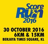 Score Run 2016, Kuala Lumpur