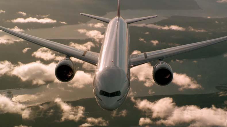 Equipo uso un Learjet altamente modificado para capturar este asombroso metraje de aviónes