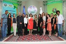 La primera dama, doctora Margarita Cedeño de Fernández, participó en el acto de inauguración.