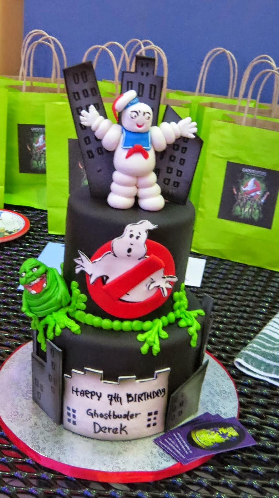 Ghostbuster theme birthday party for Decoration ideas 7th birthday party