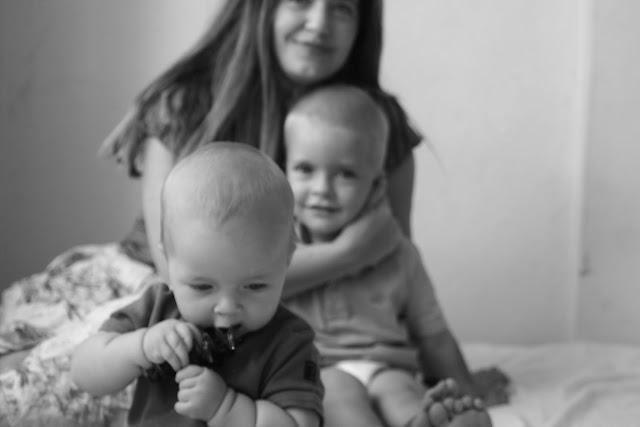 Julia, Anton and Neve.