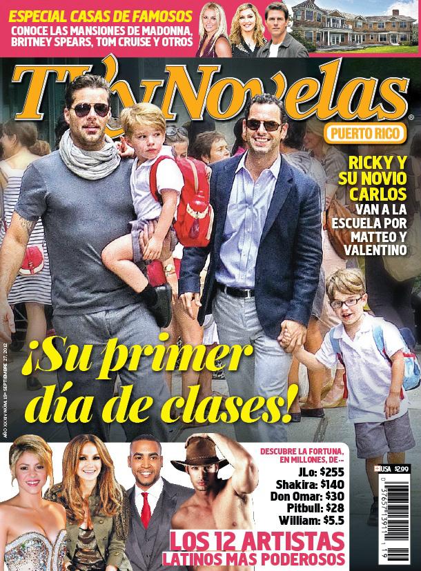 """Argentina: Shakira en la última edición de la revista """"TV y Novelas ..."""