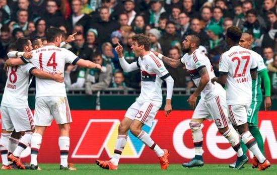 Werder Bremen 0 x 1 Bayern - Bundesliga 2015/16