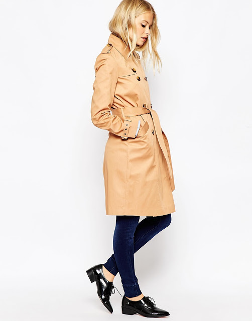 camel colour trenchcoat, camel colour mac, burberry style mac,