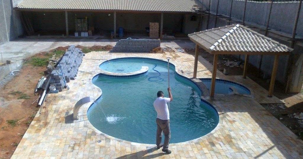 Curso para limpar piscina