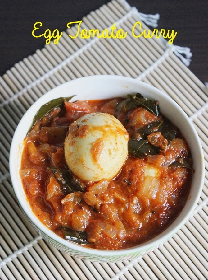 Tomato egg curry, how to make egg curry with tomato gravy