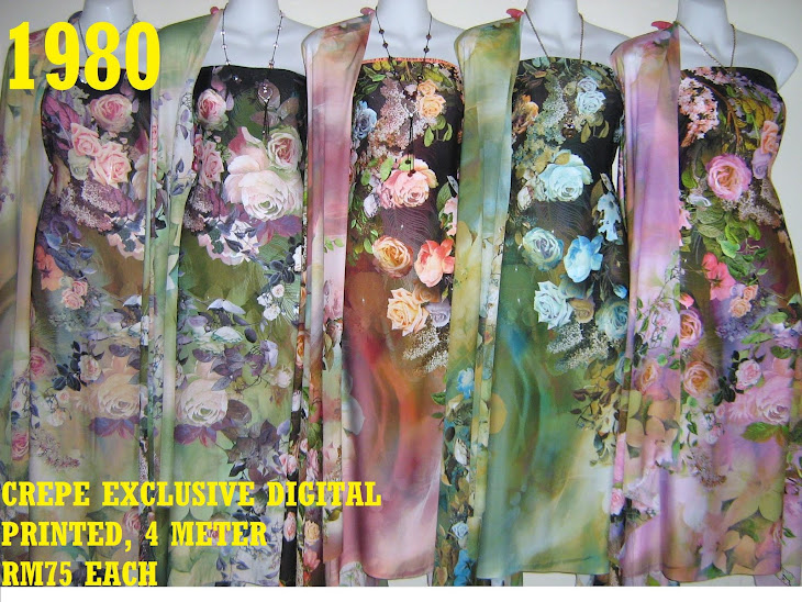 CDP 1980: CREPE EXCLUSIVE DIGITAL PRINTED, 4 METER