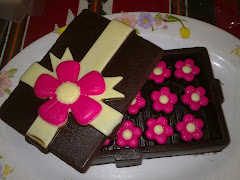 Rectangular Box + 20pcs praline