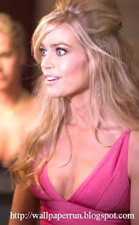 Denise Richards Pink Dress