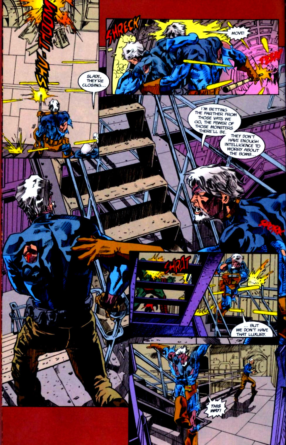 Deathstroke (1991) Issue #50 #55 - English 27