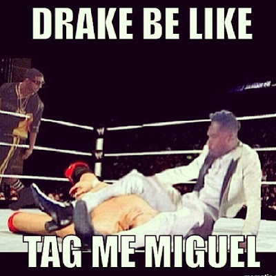 "Most Hilarious Pics From The Drake ""No New Friends"""