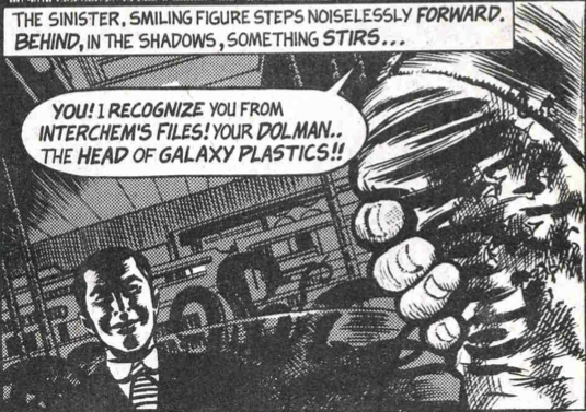 A map of causality the last war in albion part 21 alan moores figure 157 sinister smiling figures stepping noiselessly forward in doctor who weekly 41 alan moore and david lloyd 1981 fandeluxe Image collections