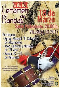III Certamen de Bandas en Villaralto.