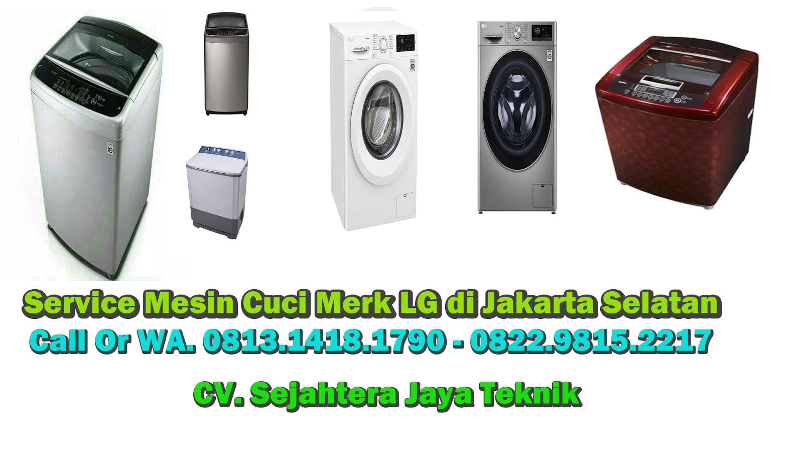 Service Mesin Cuci LG di Jakarta Selatan
