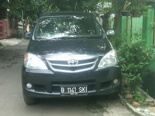 Pengiriman Avanza B 1141 SKI Jakarta ke Balikpapan