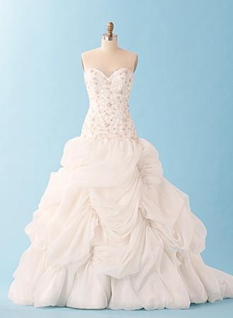 la bella y la bestia de disney - blog: vestido de boda inspirado en