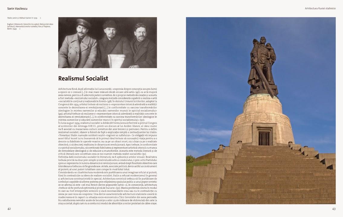 Arhitext Sorin Vasilescu Arhitectura Rusiei Staliniste