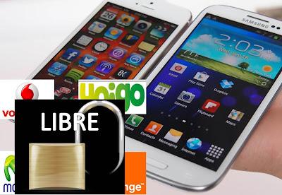 Moviles Libres Movistar, Vodafone, Orenge, Yoigo