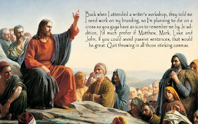 Jesus if He were a blogger