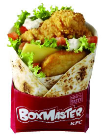 "Double Cheese Blogger: KFC's New ""Boxmaster"""